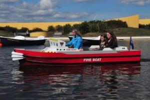 Miniport Fire Boat