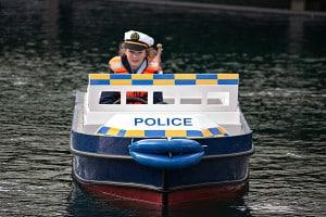 Miniport Police Boat